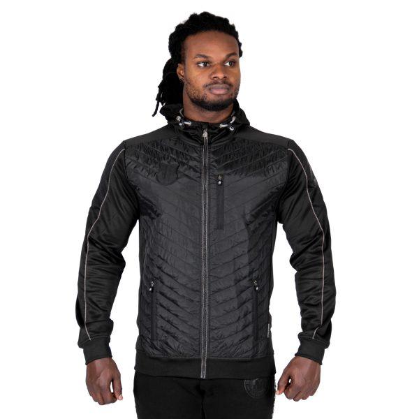 Bodybuilding-Jacket-Jefferson-Zwart-Grijs-Gorilla-Wear-1