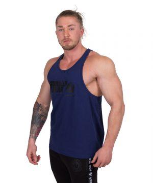 Bodybuilding-Tanktop-Classic-Blauw---Gorilla-Wear-2