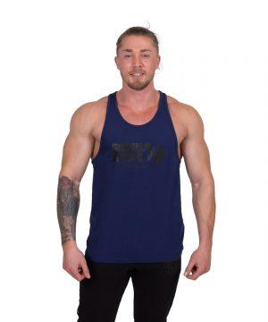Bodybuilding-Tanktop-Classic-Blauw---Gorilla-Wear-1