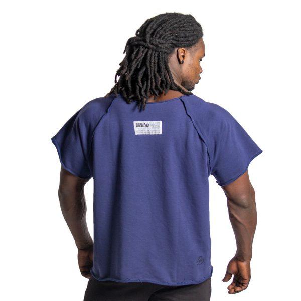 Bodybuilding-Work-Out-Top-Blauw-Gorilla-Wear-2