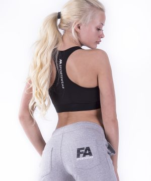 Fitness Broek Dames Grijs - Fitness Authority-2