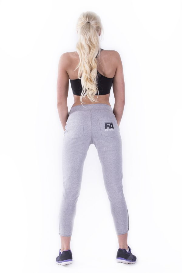 Fitness Broek Dames Grijs - Fitness Authority-3