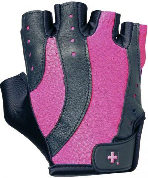 Fitness-Handschoenen-Vrouwen-Wash-and-Dry-Zwart-Roze---Harbinger-1