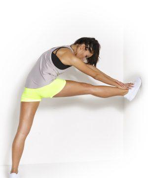 Fitness Tanktop Dames Loose Grijs - Fitness Authority-3