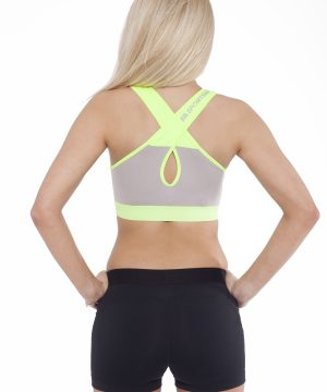 Fitness Top Dames Form Grijs Groen - Fitness Authority-2