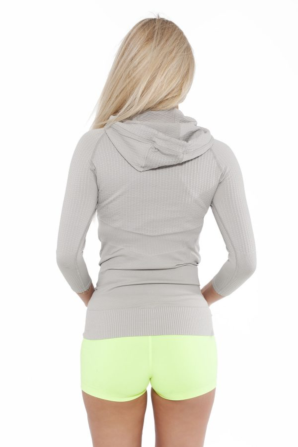 Fitness Trui Dames Superstar Grijs - Fitness Authority-2