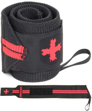 Wrist-Wraps-Red-Line-18-Inch---Harbinger