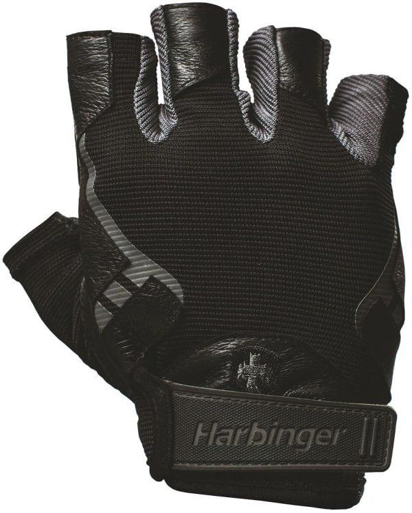 harbinger-pro-wash-dry-2-fitness-handschoenen-black-1