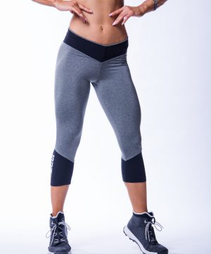 34 High Waist Sportlegging Mokka Nebbia 607 1