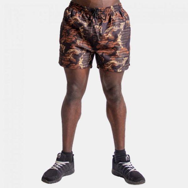 Fitness Shorts Bailey Brown Camo - Gorilla Wear-1
