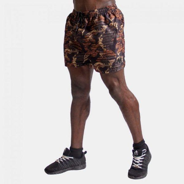 Fitness Shorts Bailey Brown Camo - Gorilla Wear-2