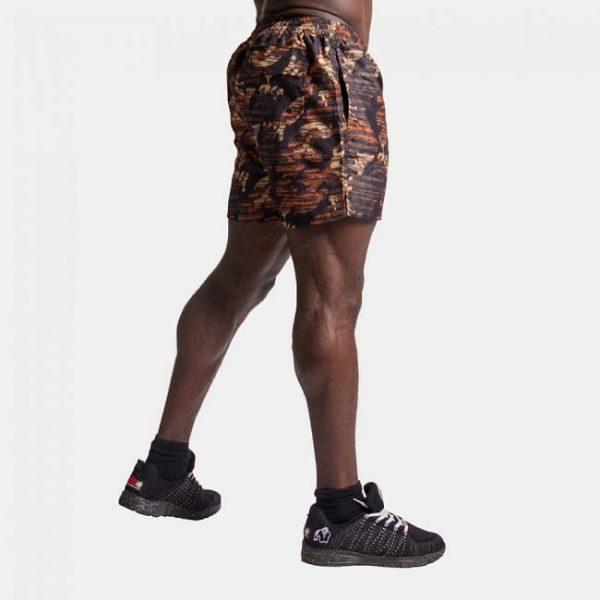 Fitness Shorts Bailey Brown Camo - Gorilla Wear-3