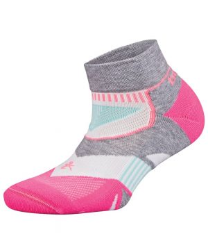 Fitness-Sokken-Dames-Roze-Wit-Balega-Enduro-Low-Cut