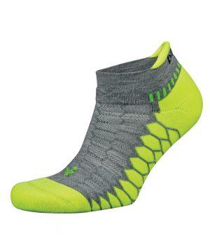 Fitness-Sokken-Grijs-Groen-Balega-Silver