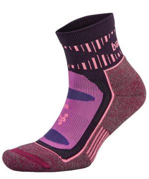 Fitness-Sokken-Paars-Roze-Balega-Blister-Resists-Quarter