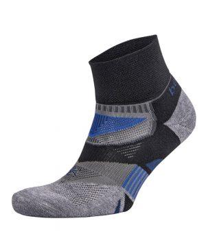Fitness-Sokken-Zwart-Grijs-Balega-Enduro-V-Tech-Quarter