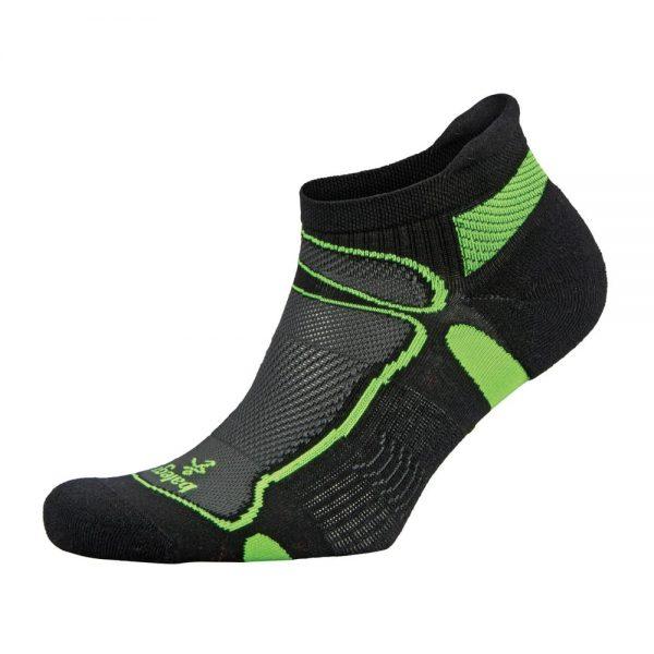 Fitness-Sokken-Zwart-Groen-Balega-Ultralight