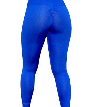 High Waist fitnesslegging Dames Blauw – Mfit-3