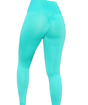 High Waist fitnesslegging Dames Mint – Mfit-2