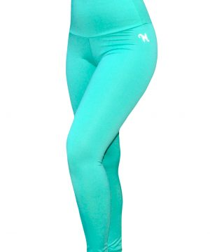 High Waist fitnesslegging Dames Mint – Mfit-3