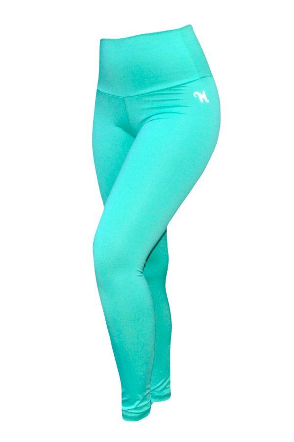 High Waist fitnesslegging Dames Mint – Mfit-3
