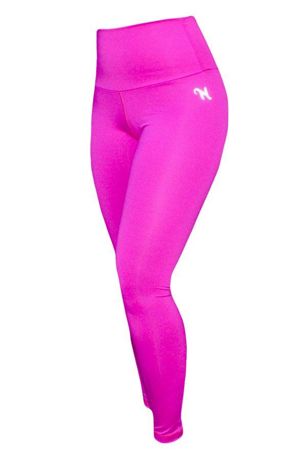 High Waist fitnesslegging Dames Roze – Mfit-2