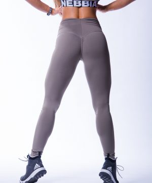 High waist Sportlegging Scrunch Butt Mokka nebbia 604 8