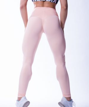 High waist Sportlegging Scrunch Butt Zalm nebbia 604 2