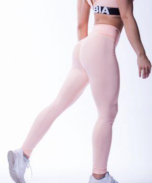 High waist Sportlegging Scrunch Butt Zalm nebbia 604 3