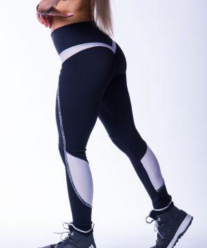 Sportlegging Dames Zwart V Butt Nebbia 605 3