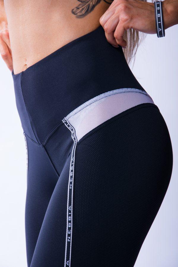 Sportlegging Dames Zwart V Butt Nebbia 605 6