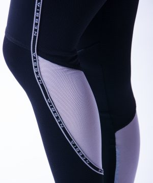 Sportlegging Dames Zwart V Butt Nebbia 605 7