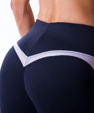 Sportlegging Dames Zwart V Butt Nebbia 605 8