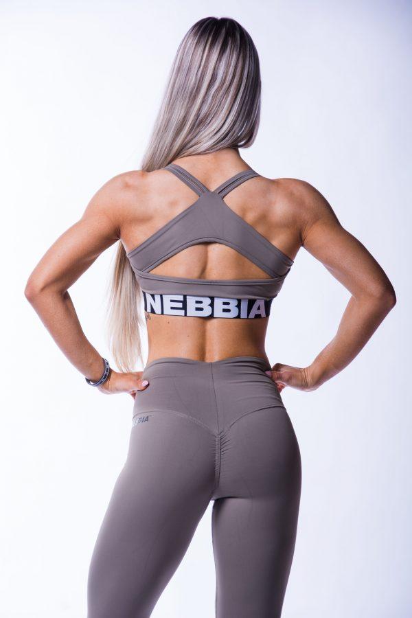 Sporttop Dames Open Back Mokka Nebbia 620 5