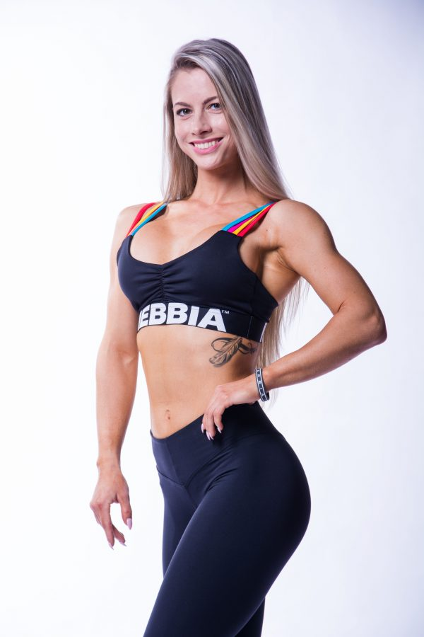 Sporttop Dames Rainbow Nebbia 621 3