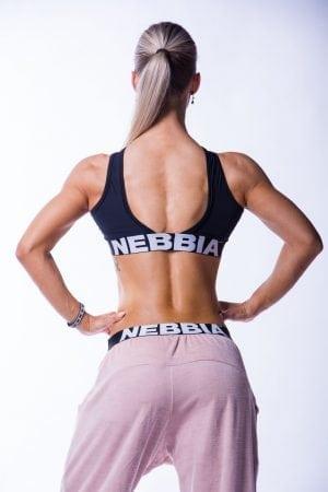 Sporttop Dames Zwart Crossed Nebbia 622 2