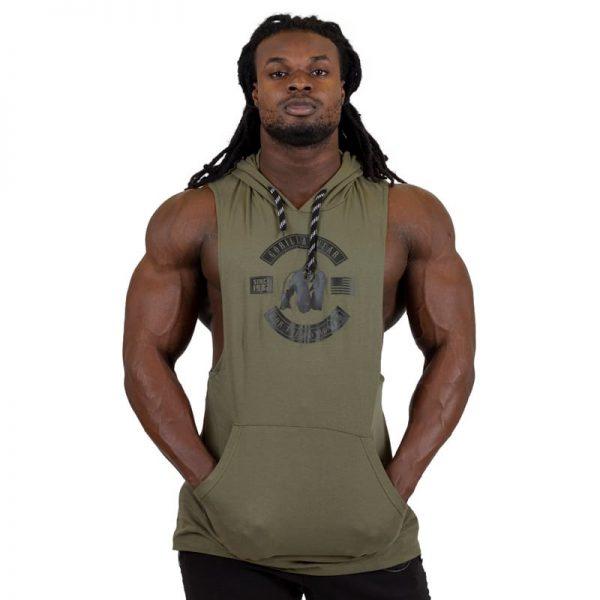 bodybuilding-hooded-tanktop-groen-gorilla-wear-lawrence-1