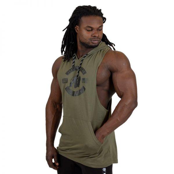 bodybuilding-hooded-tanktop-groen-gorilla-wear-lawrence-3
