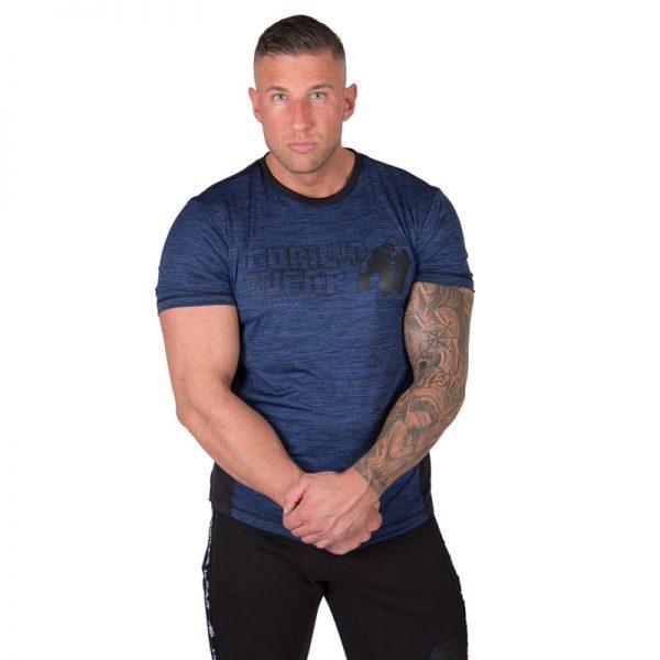 bodybuilding-t-shirt-mannen-blauw-gorilla-wear-austin-1