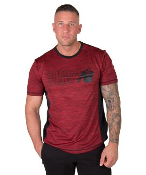 bodybuilding-t-shirt-mannen-rood-gorilla-wear-austin-1