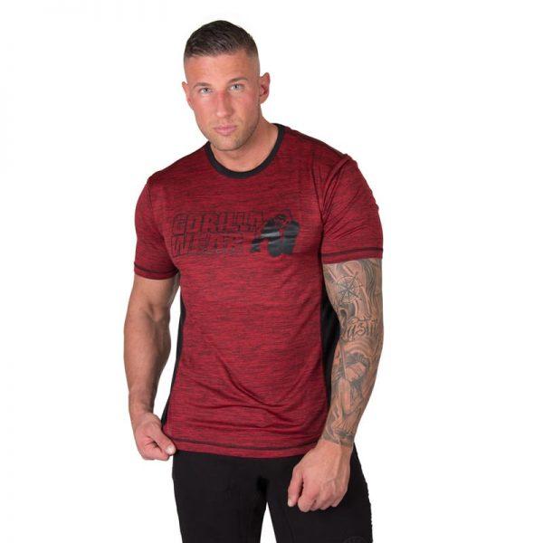 bodybuilding-t-shirt-mannen-rood-gorilla-wear-austin-3