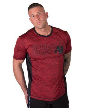 bodybuilding-t-shirt-mannen-rood-gorilla-wear-austin-4