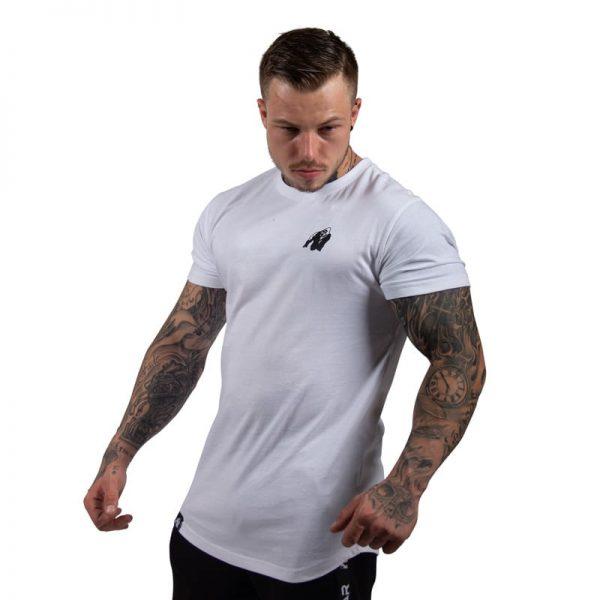 bodybuilding-t-shirt-mannen-wit-gorilla-wear-detroit-3