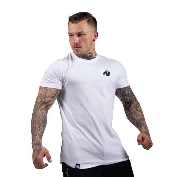 bodybuilding-t-shirt-mannen-wit-gorilla-wear-detroit-4