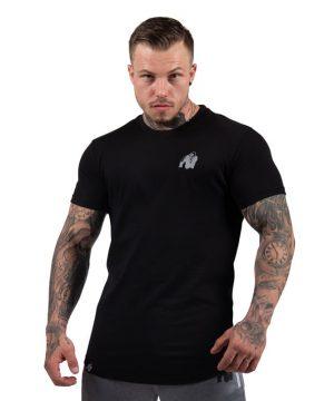 bodybuilding-t-shirt-mannen-zwart-gorilla-wear-detroit-1