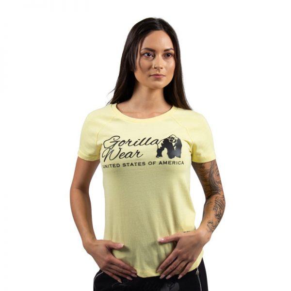 fitness-shirt-dames-lichtgeel-gorilla-wear-lodi-1