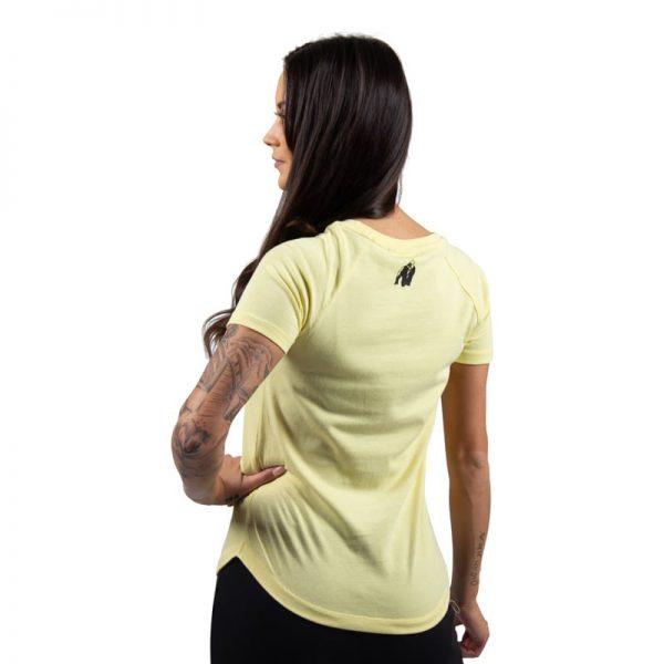 fitness-shirt-dames-lichtgeel-gorilla-wear-lodi-2