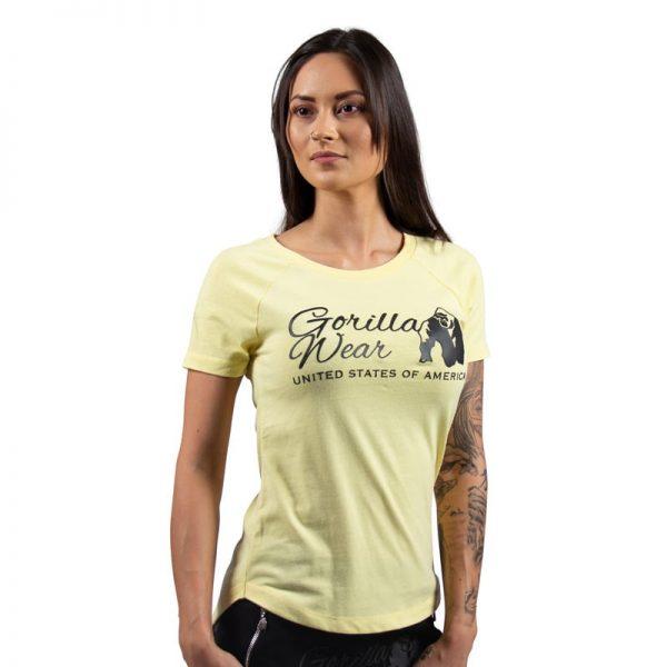 fitness-shirt-dames-lichtgeel-gorilla-wear-lodi-3