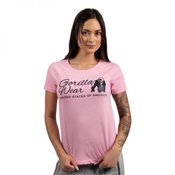fitness-shirt-dames-roze-gorilla-wear-lodi-1
