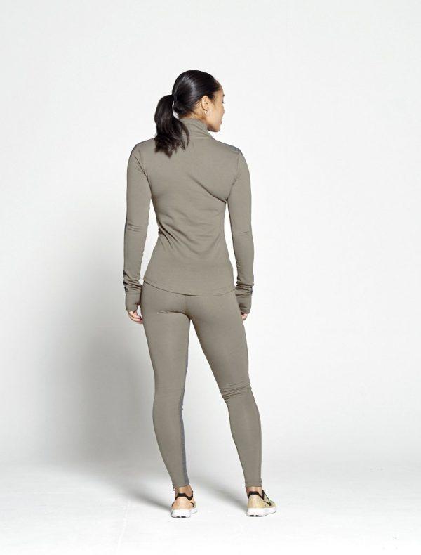 Fitness Legging Dames Profit Kaki - Pursue Fitness 2